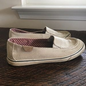 SPERRY TOPSIDERS size 7 canvas